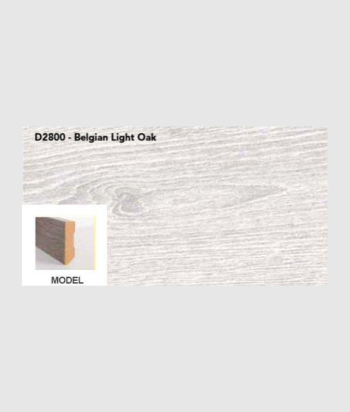 Plint belgian light oak
