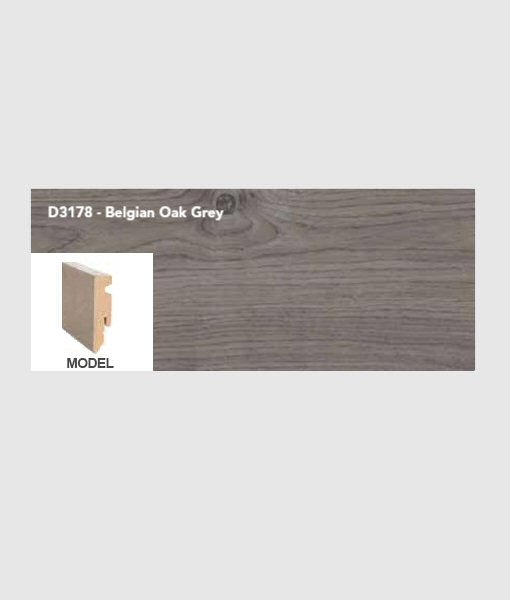 Plint belgian oak grey