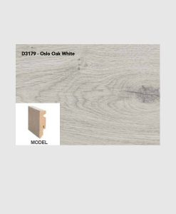Plint oslo oak white