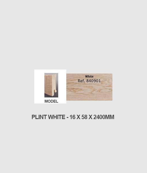 Plint white