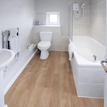 laminaat in badkamer
