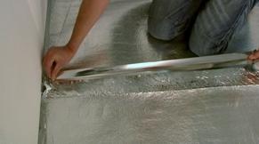 laminaat ondervloer leggen
