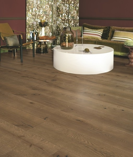 Quick-Step Donkere chocolade eik geolied extra mat